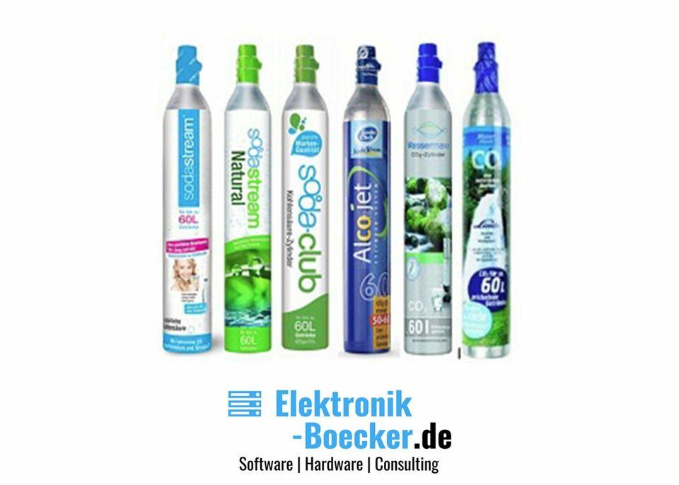 Füllung/Tausch SodaStream Zylinder 60L 425g CO2 E290 Kohlensäure in Uplengen
