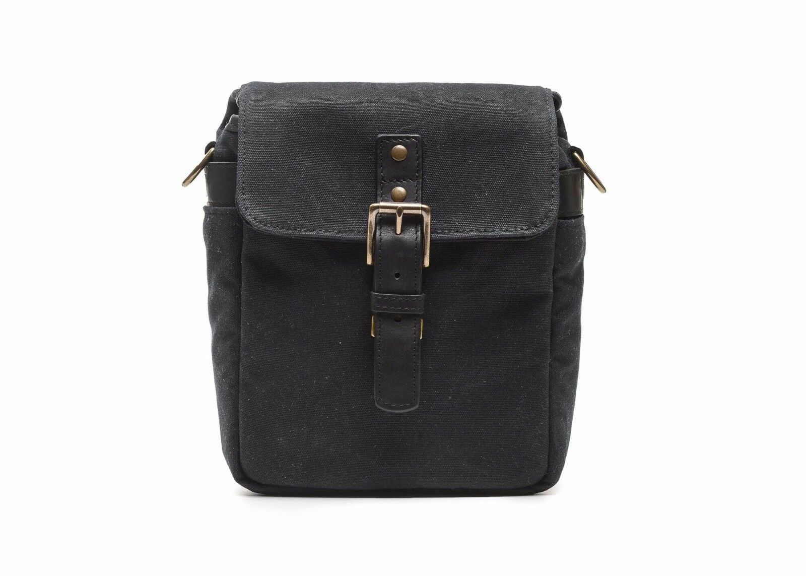 Ona Canvas Bond Street Camera Bag (Black) -> Handcrafted Excellence
