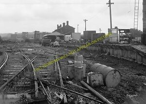 Newport Railway Station Photo. Cowes - Shide. Isle of Wight Central Railway