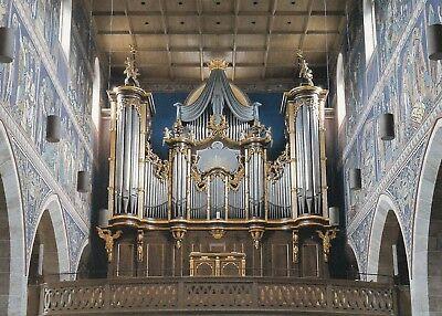 Alte Kunstkarte - Stadtkirche Winterthur - Grosse Orgel