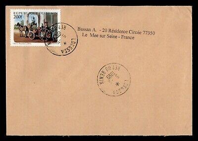 DR WHO 1999 BENIN LOKOSSA TO FRANCE  g16555
