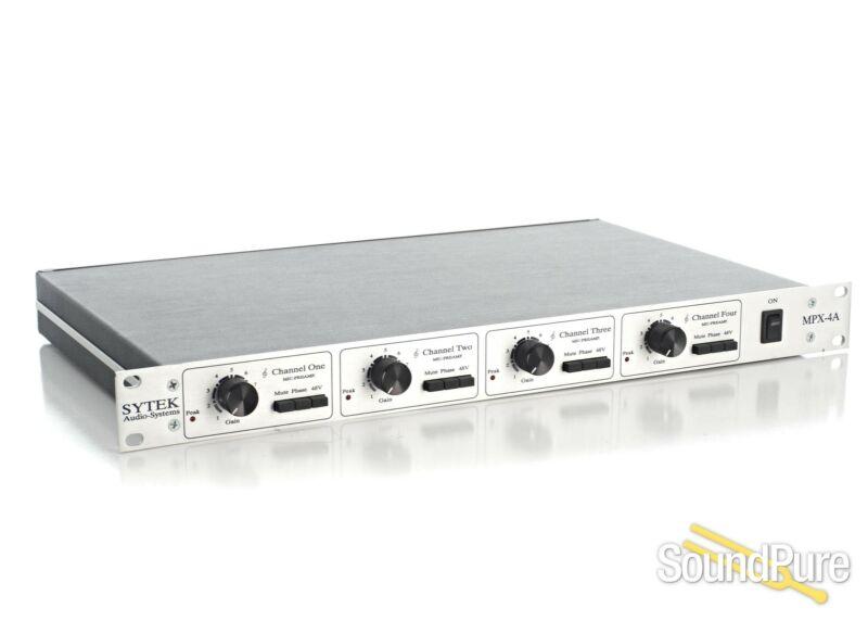 Sytek MPX-4Aii 4-channel Microphone Preamplifier - Used