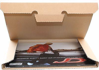 NEU 150 St. Premium LP Versandkartons für 1-3 Vinyl LP/Maxi 12 Zoll extra stark