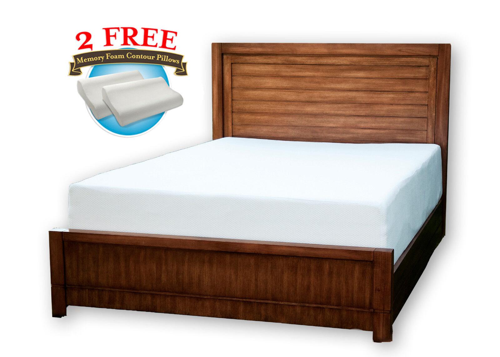 extra long twin mattress - 10 inch cool medium memory foam mattress twin, xl,  full, queen, king, cal king