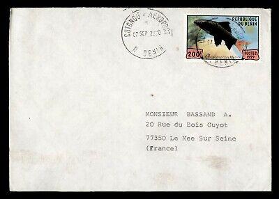 DR WHO 2000 BENIN COTONOU TO FRANCE FISH  g16556