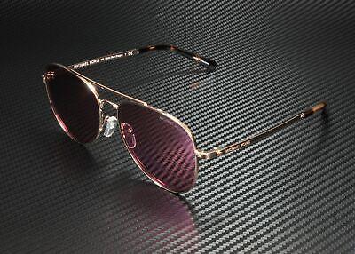 MICHAEL KORS MK1045 11089L San Diego Rose Gold Hibiscus 56 mm Women's Sunglasses