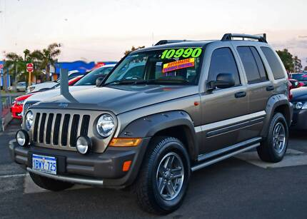 2005 Jeep Cherokee Renegade Wagon Auto 5sp 4x4 2.8DT [MY05