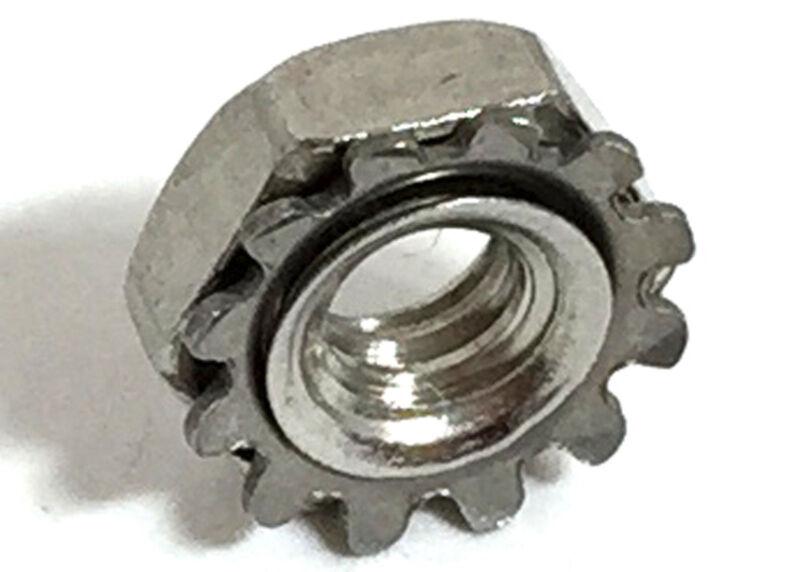 Stainless Steel 6-32 Keps Nuts K-Locks Qty 1000
