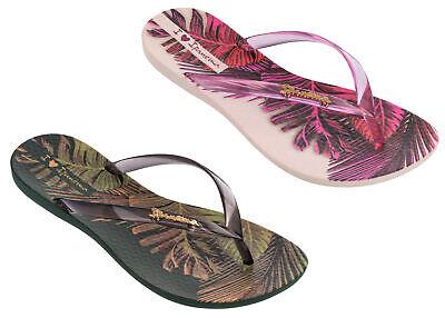 Ipanema Ladies Wave Tropical Thong Flip Flops, 100%  Recyclable & Vegan-Friendly