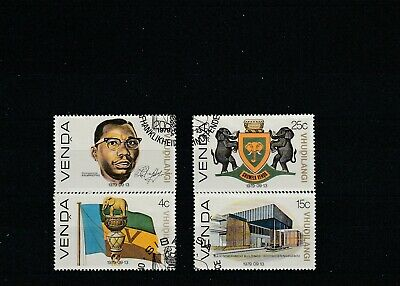 Venda (South Africa)  1979  Day of Independence Set of 4 Values Used   scan 1736