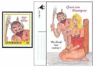 Personalisierte Briefmarke 8121237 Karte Gruss vom Krampus 2016 - <span itemprop=availableAtOrFrom>Altenmarkt-Thenneberg, Österreich</span> - Personalisierte Briefmarke 8121237 Karte Gruss vom Krampus 2016 - Altenmarkt-Thenneberg, Österreich