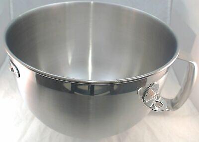 WPW10245586, 6QT S.S. Bowl fits Whirlpool KitchenAid Stand Mixer