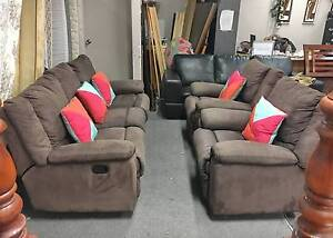 DELIVERY TODAY COMFORTABLE ALL RECLINER 3X1X1 sofas set lounge Belmont Belmont Area Preview