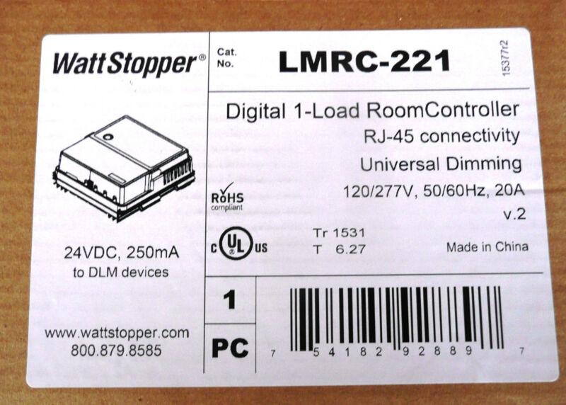 Watt Stopper LMRC-221 Digital 1-Load Dimming Room Controller, UPC 754182928897