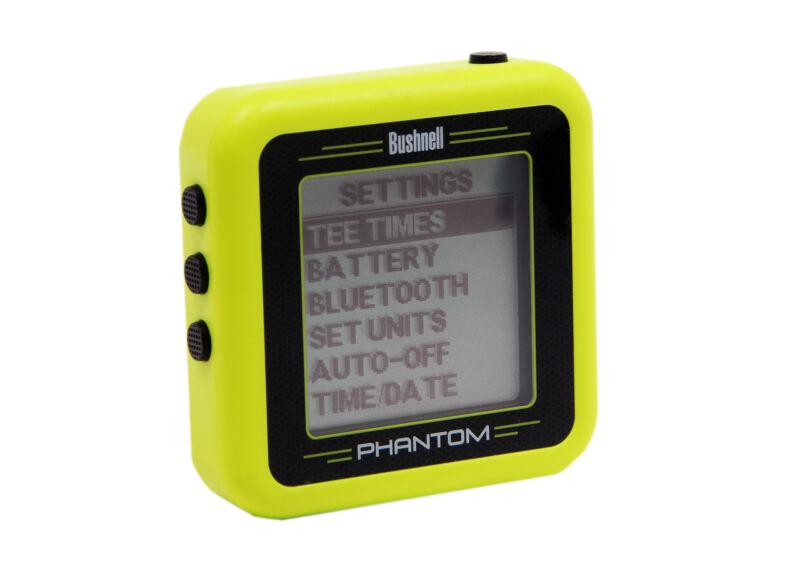 Bushnell Golf Phantom GPS with Bite Magnet, Handheld Green Certified Refurbished