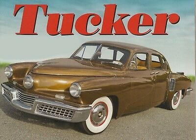 1948 Tucker 48 13x19 Poster PhotoArt Cover Style 10mil Quality PhotoStock