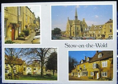 England Gloucestershire Stow-on-the-Wold - unposted