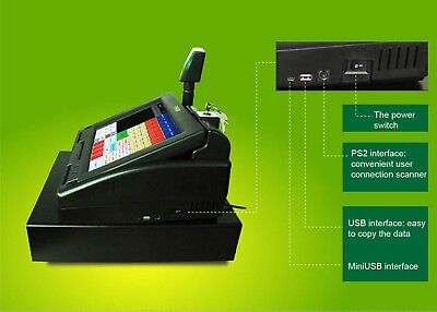 Pbm Ts3600a Touch Screen Cash Register