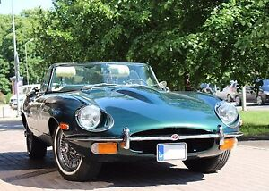 Jaguar E-Type. Fully Restored. Matching Numbers.