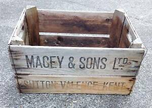 Vintage Timber Crate Coorparoo Brisbane South East Preview