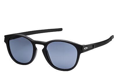 Oakley LATCH (Asia Fit) Sunglasses OO9349-01 Matte Black Grey Lens 9349-01