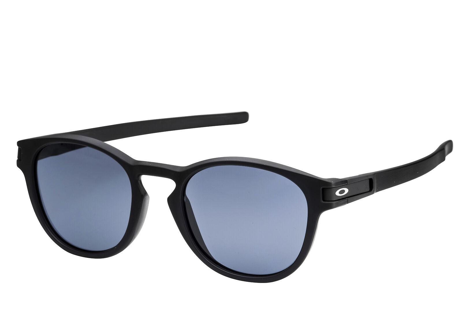 f782c6c93734 Oakley LATCH (Asia Fit) Sunglasses OO9349-01 Matte Black Grey Lens 9349-01