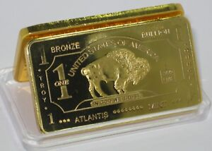Lower Price with 1 Gram Titanium Buffalo Bullion Bar Other Bullion Bullion