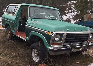 Ford 77 bronco for sale.