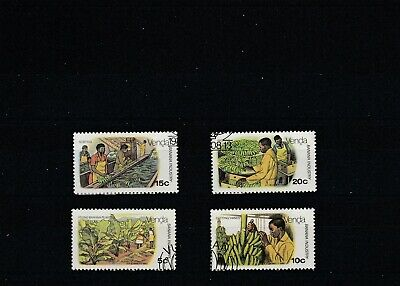 Venda (South Africa)  1980  Banana Industry  Set of 4 Values Used   scan 1739