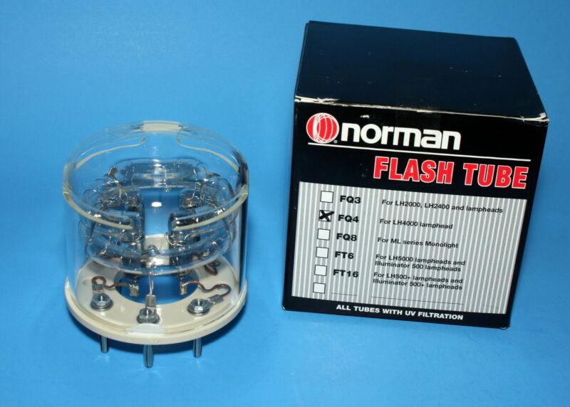 Norman OEM FQ4, FQ-4 FQ 4 uv FQ4UV flash tube NIB