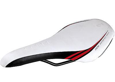 Sillin Active Anatomic DDK Hibrido para Bicicleta de Carretera y MTB Blanco...
