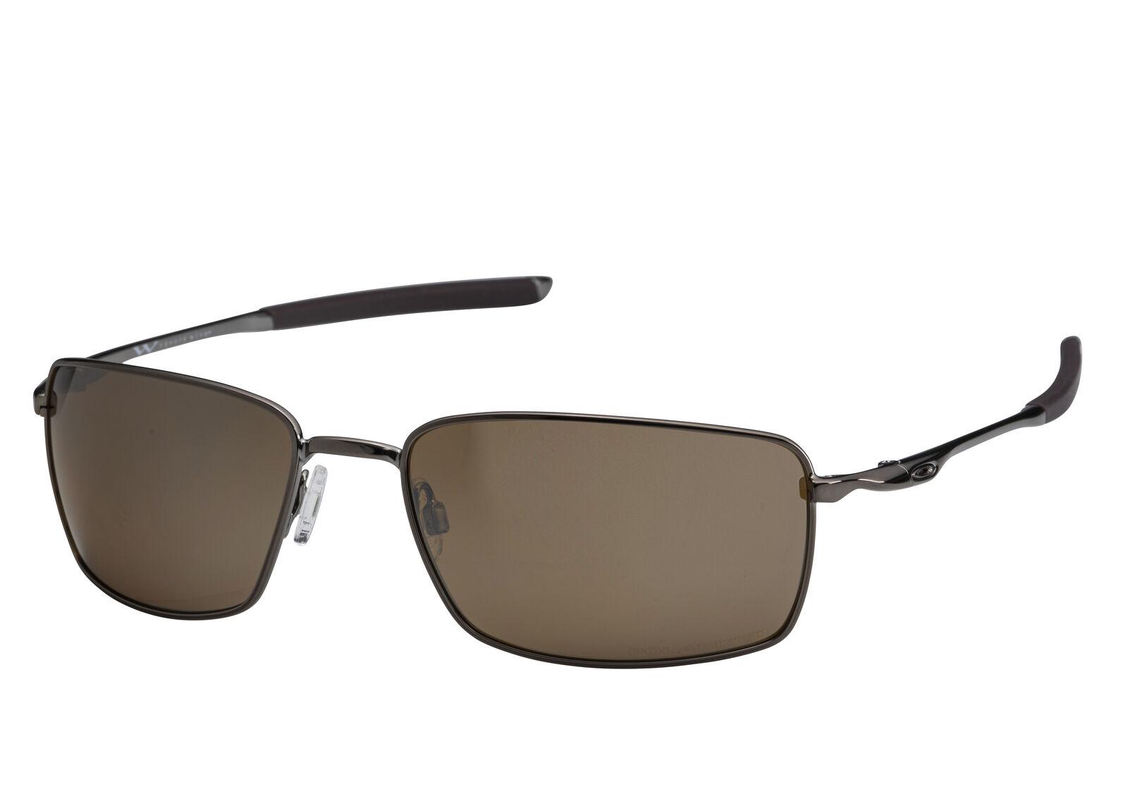e639500454 Details about Oakley Square Wire Sunglasses OO4075-06 Tungsten Iridium  Polarized OO4075 06