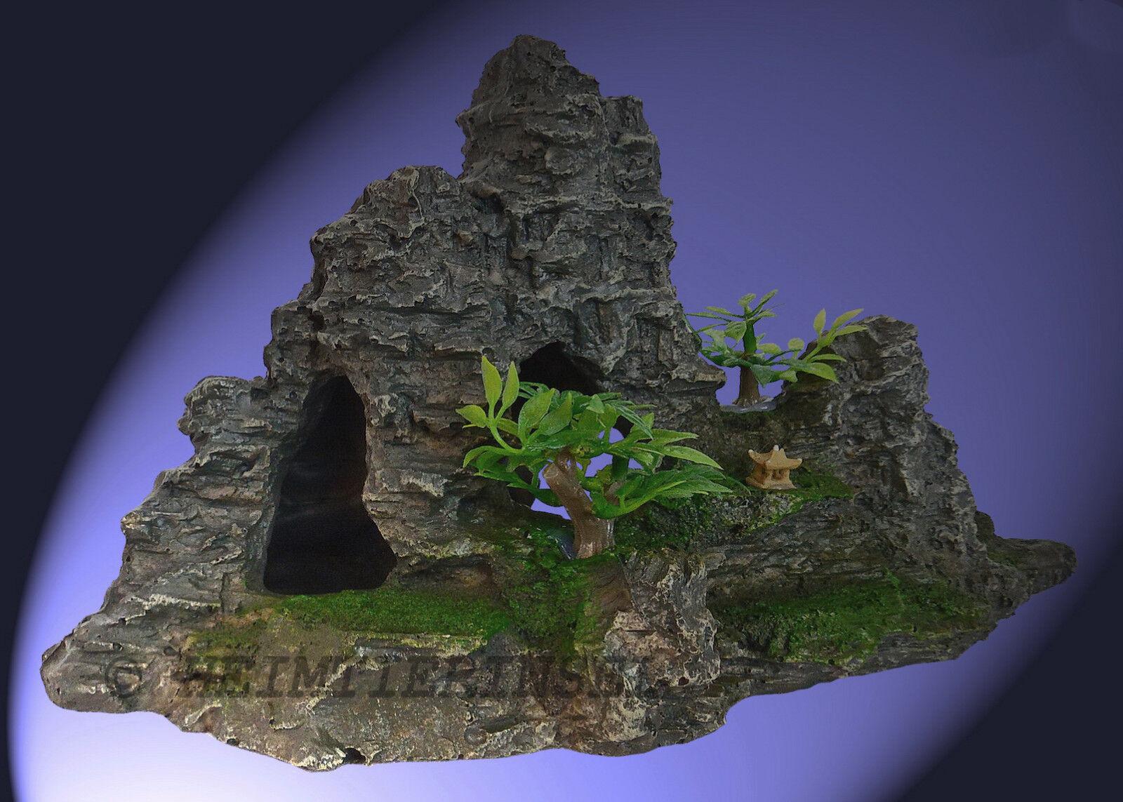 aquarium deko grotten h hle stein welse barsche terrarium dekoration zubeh r eur 8 99. Black Bedroom Furniture Sets. Home Design Ideas