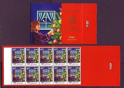 Island postfrisch 2003 Markenheft  von MiNr. 1049  Weihnachten