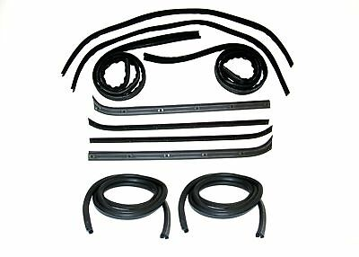 1973-79 Ford Fullsize Pickup  Belt Weatherstrip- Window Channel- Door Seal Kit