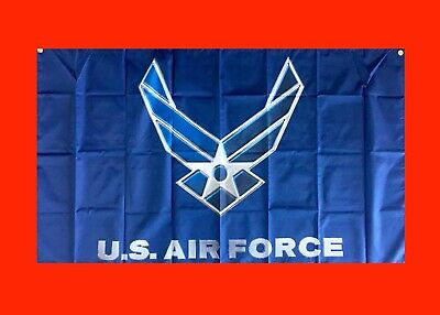 State Flag Poster Banner (LARGE United States Air Force Banner Flag)