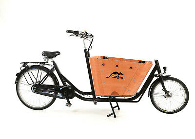 Elektrotransportrad E-Bike Cangoo City 2 BAKFIETS 8 Gang 26
