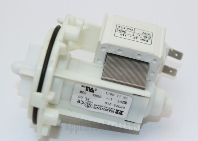 LG, Asko Dishwasher & Washing Machine Genuine HANNING Pump  - . 4681EA2002F