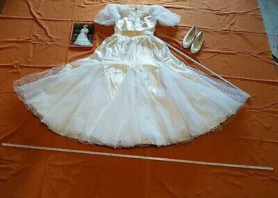 Brautkleid 44 gebraucht, von Lohrengel, Modell Cinderella, für Reifrock geeignet