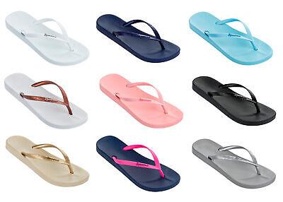 Ipanema Ladies Anatomica Tan 21 Thong Flip Flops, Recyclable & Vegan-Friendly
