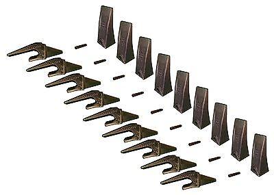 9 - Mini Excavator Bucket Teeth Weld-on Shanks Pins - X156l T230x156 P156