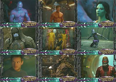 2014 Upper Deck Marvel The Guardians Of The Galaxy 90 Base Card Silver Hobby Set