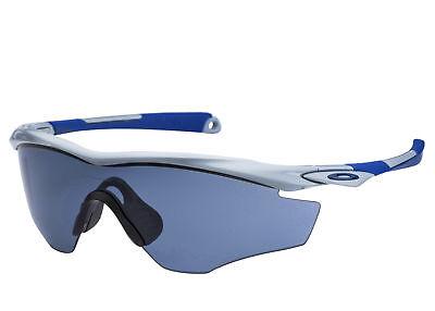 Oakley M2 Frame OO 9212-03 Polished Fog / Grey Shield Mens Sunglasses OO9212