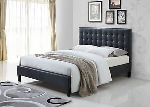 new 4PCE BEDROOM SUITE - PU LEATHER, GREY ezi-pay available Bundall Gold Coast City Preview