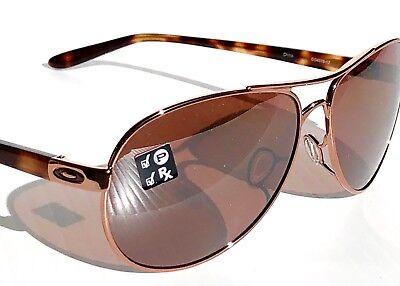 NEW* Oakley Feedback Rose Gold POLARIZED AVIATOR Rose lens Women's Sunglass (Oakley Rose Gold Aviators)