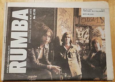 Finnish RUMBA Magazine 17/2001 : THE STROKES Cover