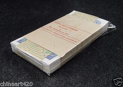 Bundle of 100 Pieces Myanmar Burma 1 Kyat BANKNOTE UNC