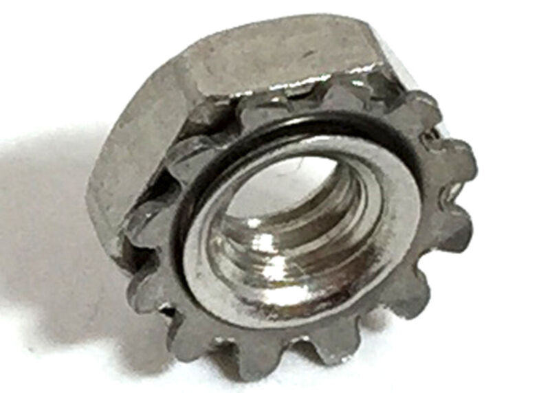 Stainless Steel 8-32 Keps Nuts K-Locks Qty 250