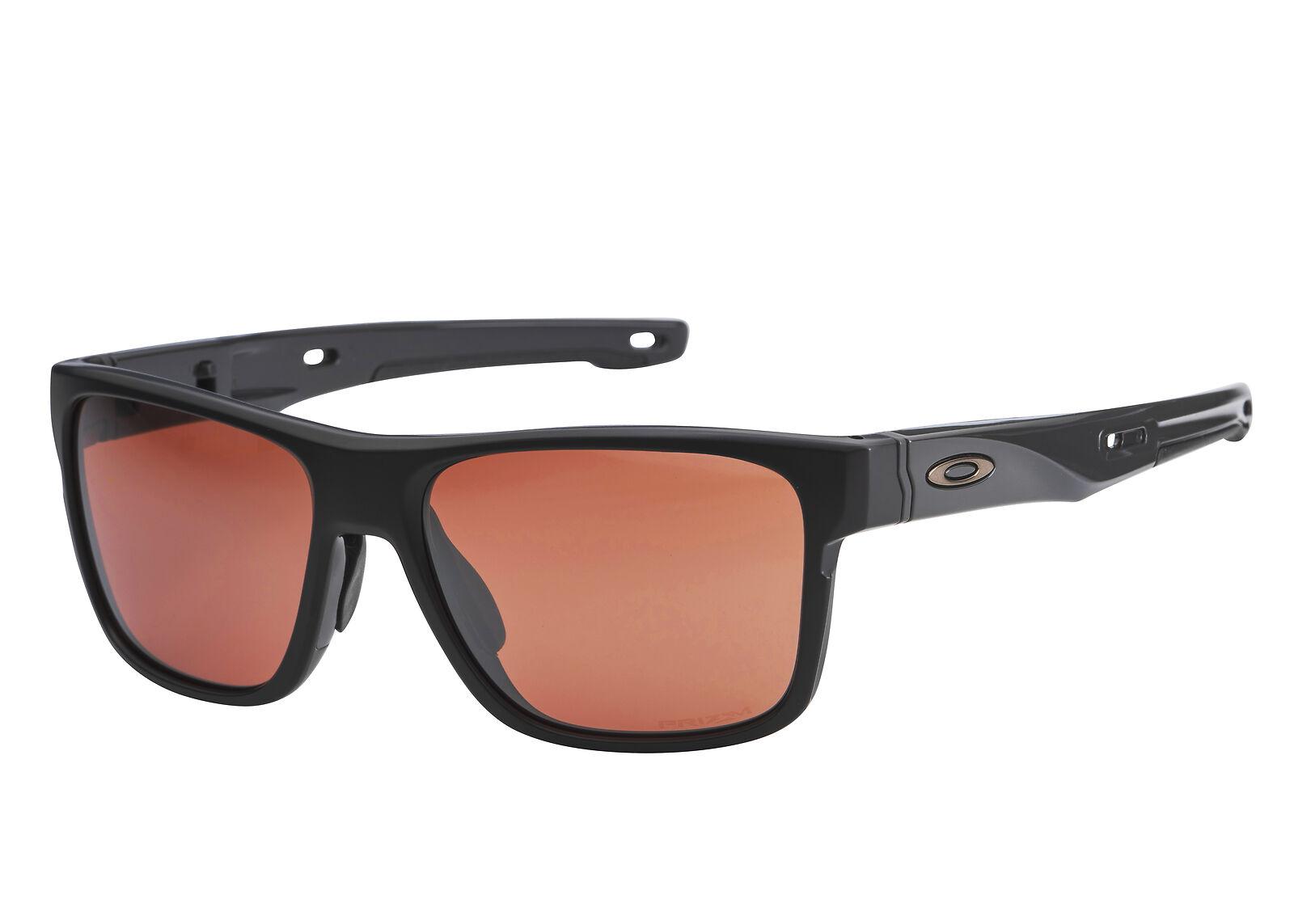 f079acb9827 Oakley Crossrange Sunglasses Matte Black Prizm Dark Golf OO9361-17 9361-17  57mm