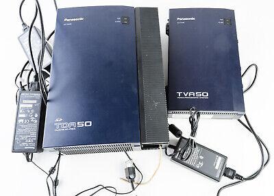 Panasonic Tda50 Tva50 Hybrid Ip-pbx Voice Processing System With Power Adaptors